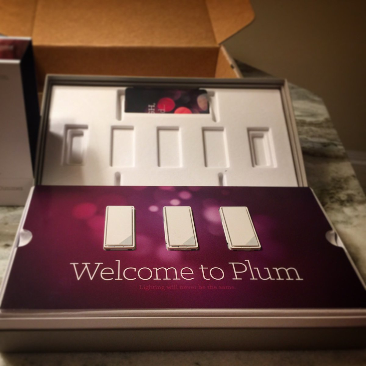 Just Received My #Plum Smart Light Switches And Iu0027m Excited!  Https://t.co/fO3GxocREr Https://t.co/0HPMrv1XYB