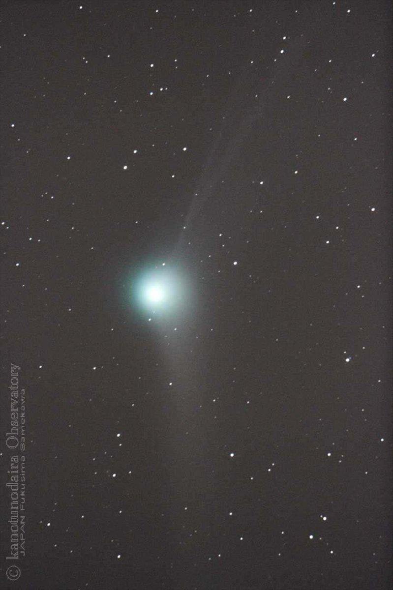 カタリナ彗星(2015.12/13)