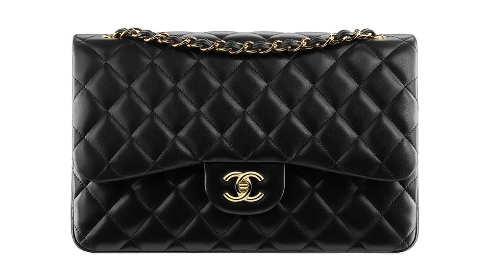 4956d75bf18171 our international price guide for the chanel classic flap has prices for 8  countries