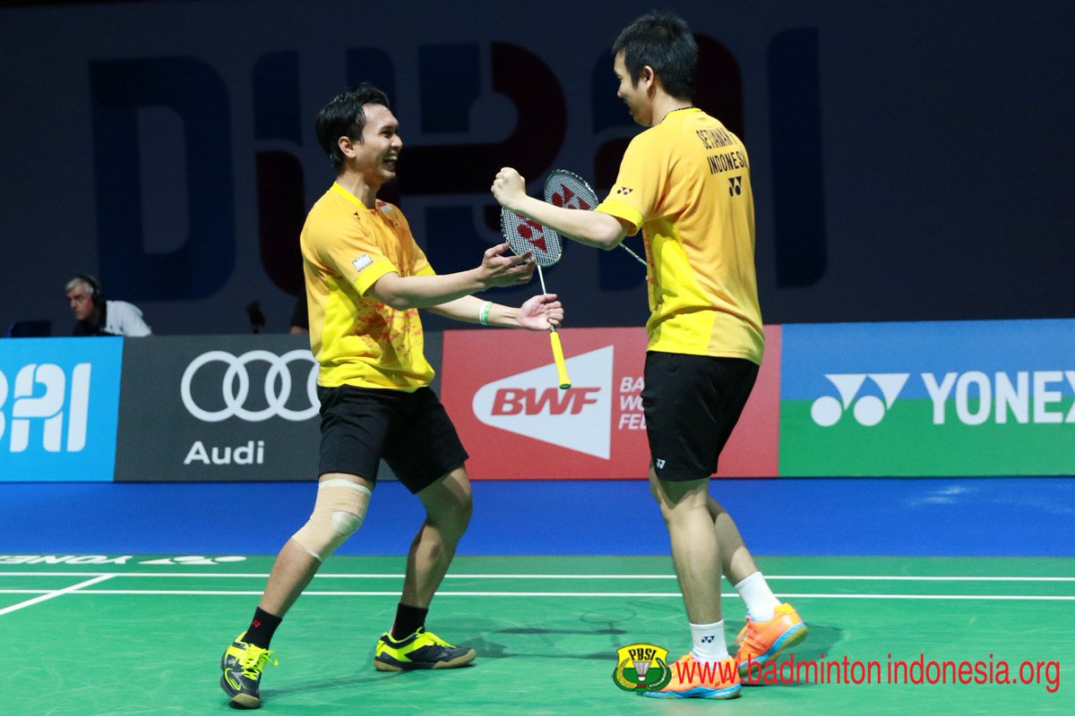 "BADMINTON INDONESIA on Twitter ""Ekspresi kemenangan Hendra"