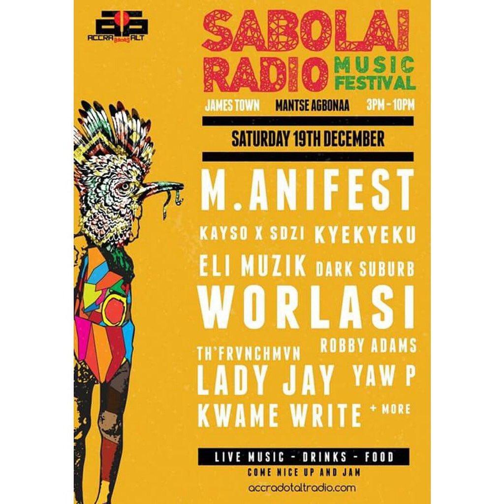This Saturday #SabolaiRadio . Its Free. https://t.co/JdeBuTcs3z