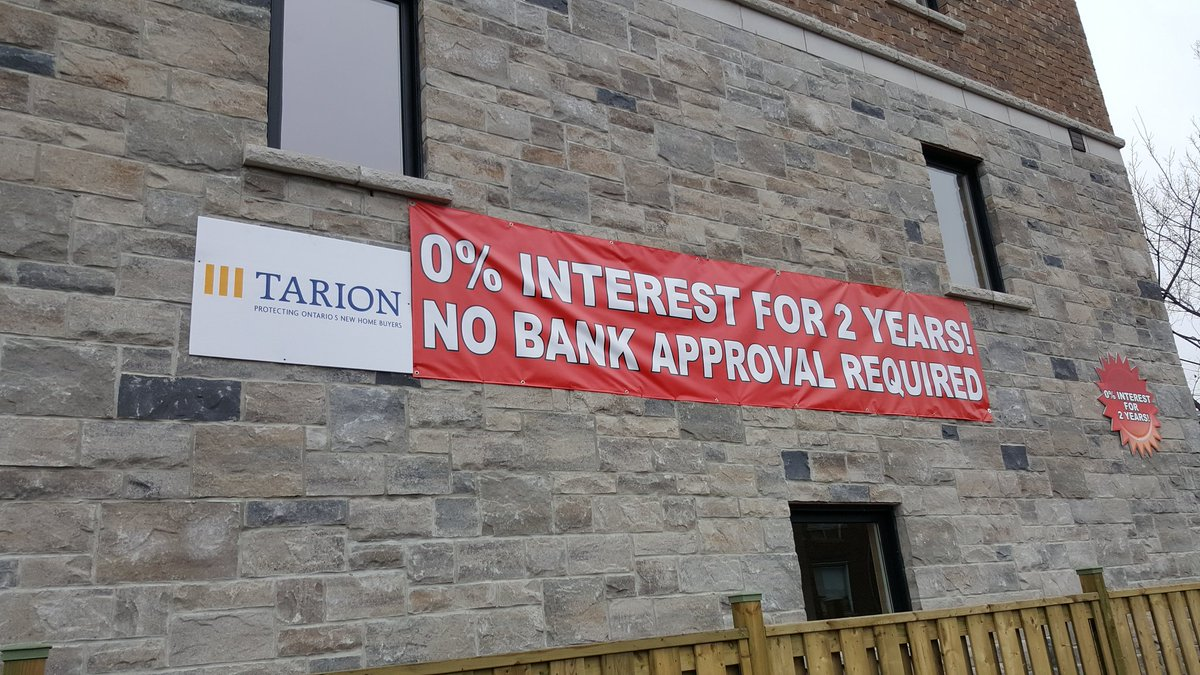 @RudyHavenstein In case you missed it: Toronto real estate. 0% interest, no bank approval https://t.co/gjVwlyZCR0 via @FCFYield