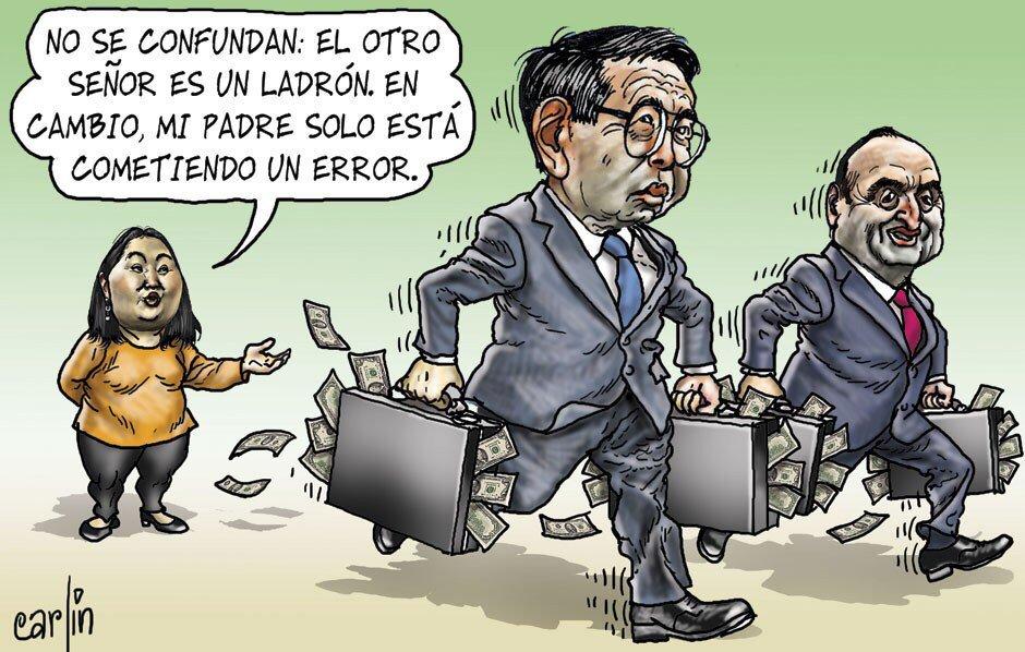 "No a Keiko auf Twitter: ""#Keikonchuda Excelente la caricatura de hoy de  Carlín #NoaKeiko https://t.co/n03BKFlYbl"""
