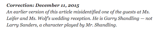 Best NYT Weddings correction https://t.co/BVoBQEligG