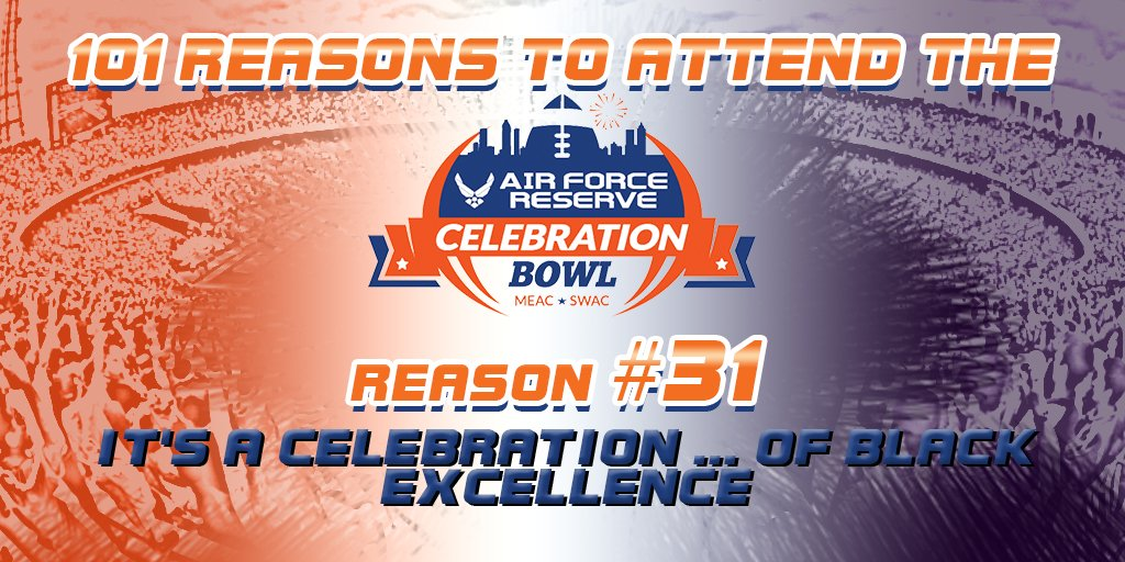 72f1f3f0ee7 Air Force Reserve Celebration Bowl on Twitter:
