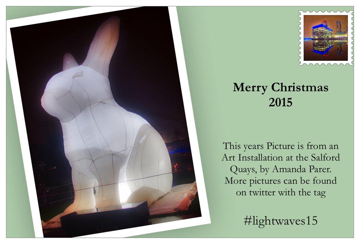 #lightwaves15 perfect motive for a christmas card. https://t.co/j2CyZV9W6l