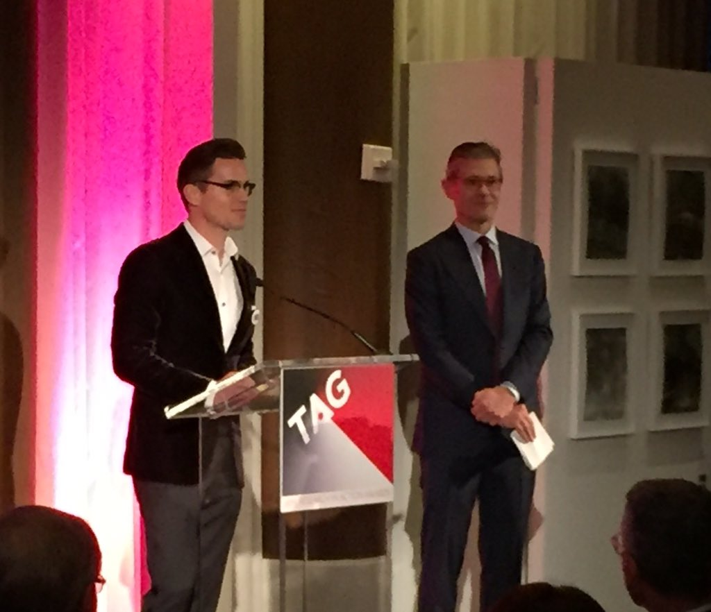 Spectacular Treatment Action Group  event Awards go out to @MattBomer Simon Halls https://t.co/4Z7WKzZmyO