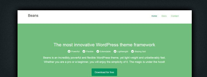 An Introduction to Beans: A Free Light-Weight WordPress Theme Framework https://t.co/mDxKjHsepa #WordPress https://t.co/GQGRi0q77p