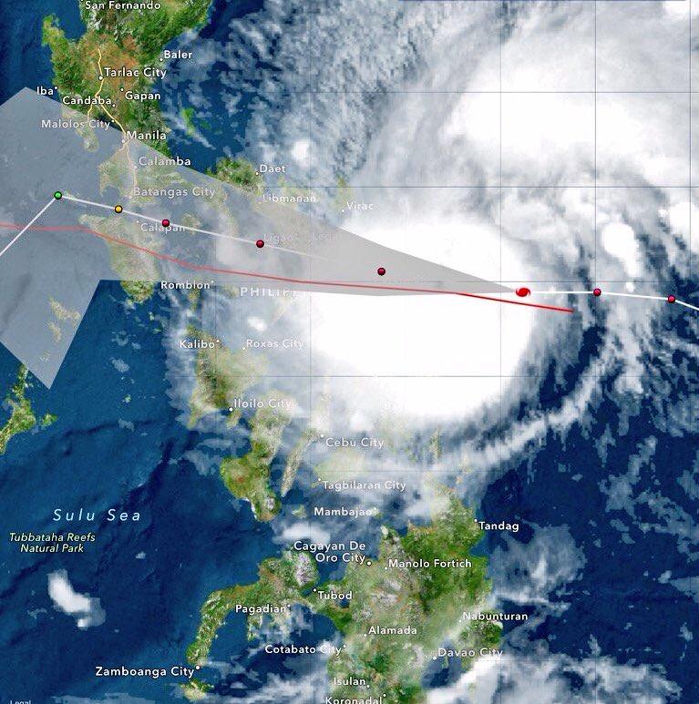 Massima allerta per il tifone Melor nelle Filippine