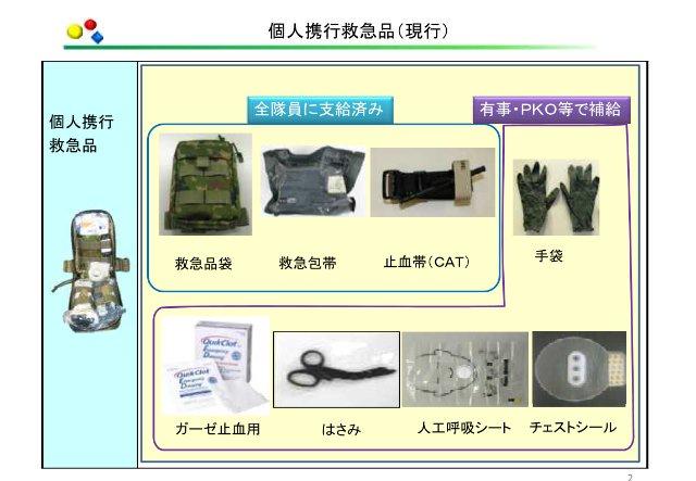 自衛隊衛生装備/陸自のミニガン/輸送防護車訓練/空自訓練まとめ