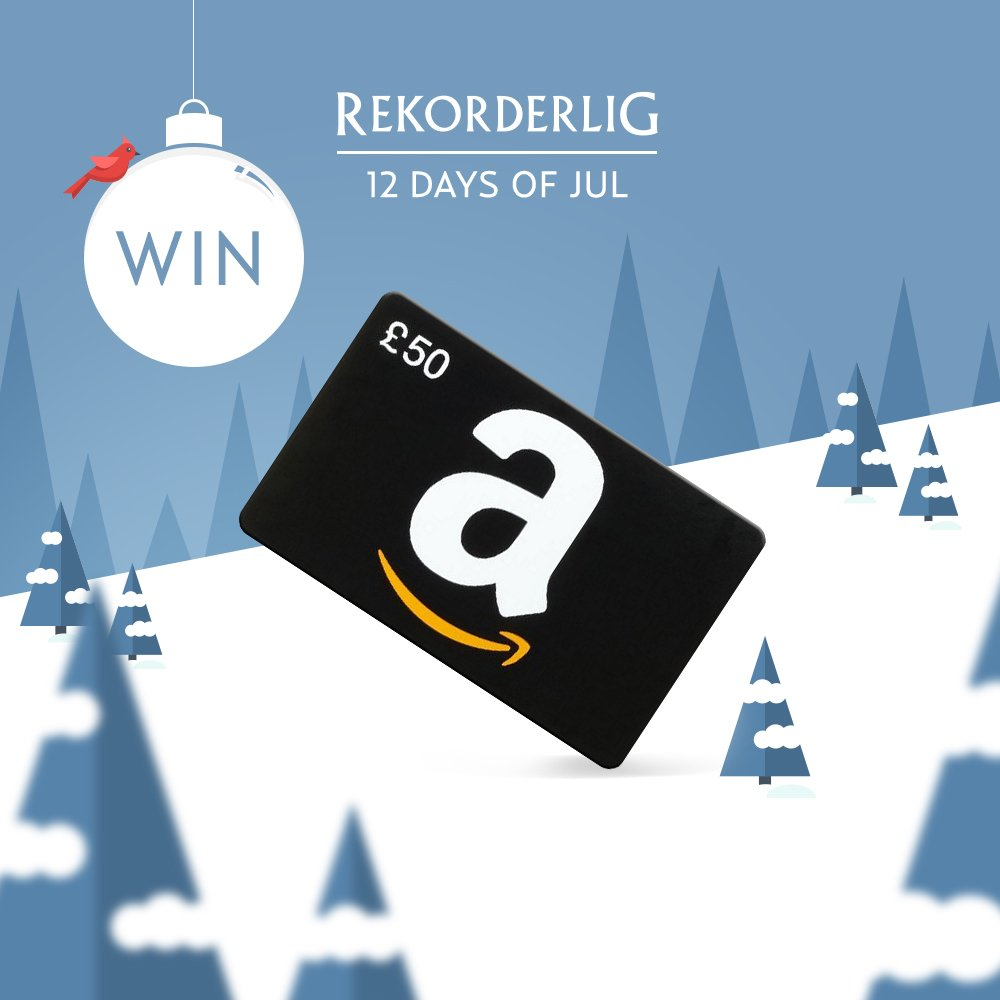 Day 7: Win a £50 Amazon voucher! RT & Follow to enter. #12DaysOfJul Ends 6pm. https://t.co/OdFxfuDbHs https://t.co/SrceLE0I9y