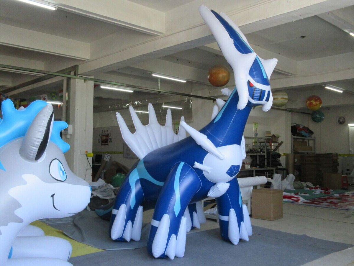 "Zoe Zuo on Twitter: ""Pokemon dragon,new inflatable dragon ... - photo#12"