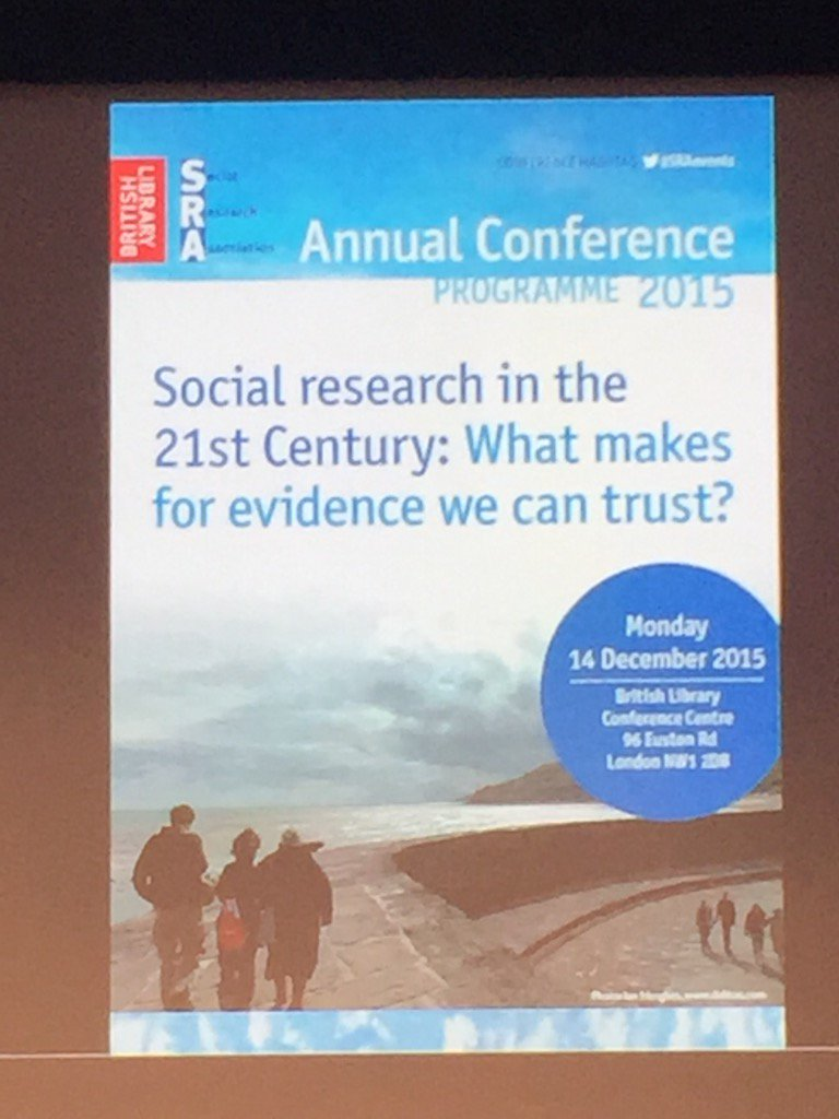 A vitally important question to ask of all social research #SRAevents https://t.co/TNxrOU70H2