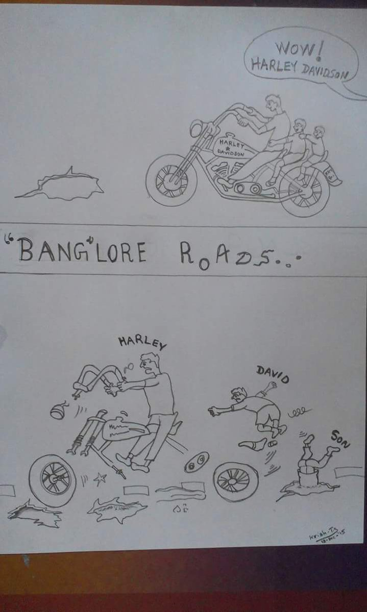 Bangalore roads @WeAreBangalore https://t.co/VST0QkX8xt