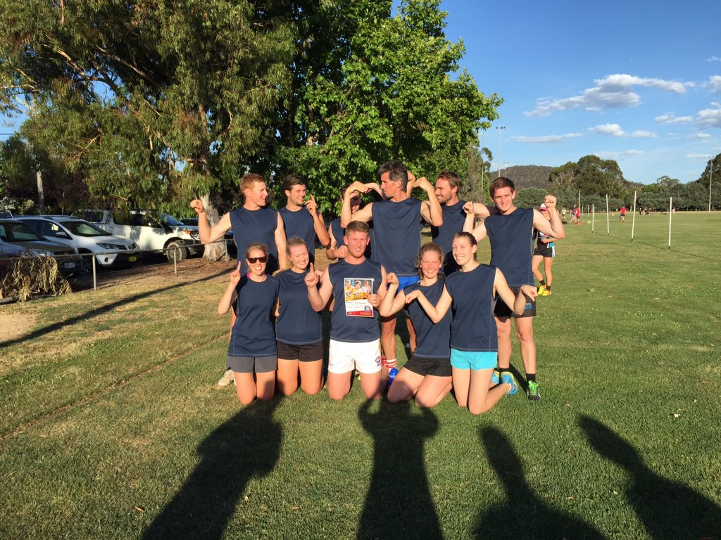 Hornets #premiers2015 #afl9s Monday night North side comp. @AFLCanberra #theviewfromthetop