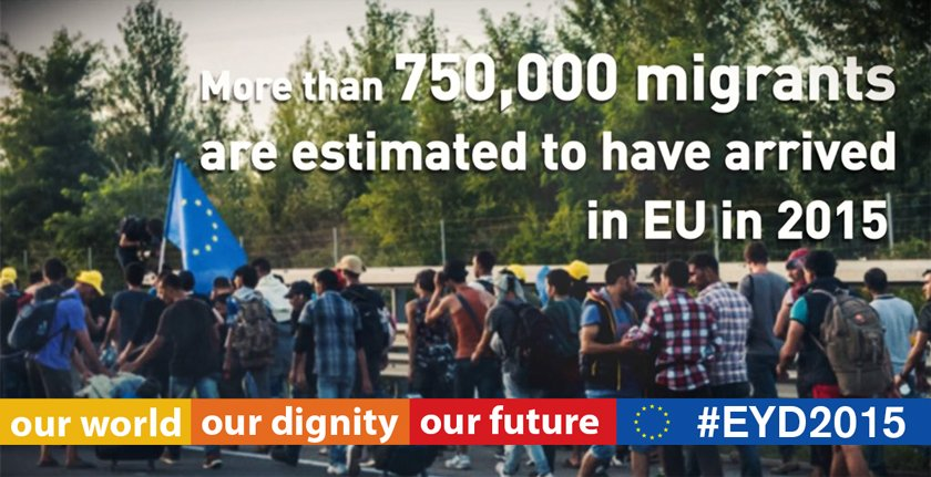 What impact is #refugee crisis having on #Europe? #KAPTalks today at 4:30pm CET https://t.co/hf9WZkFvnu #EYD2015 https://t.co/ZQrG1J55YZ