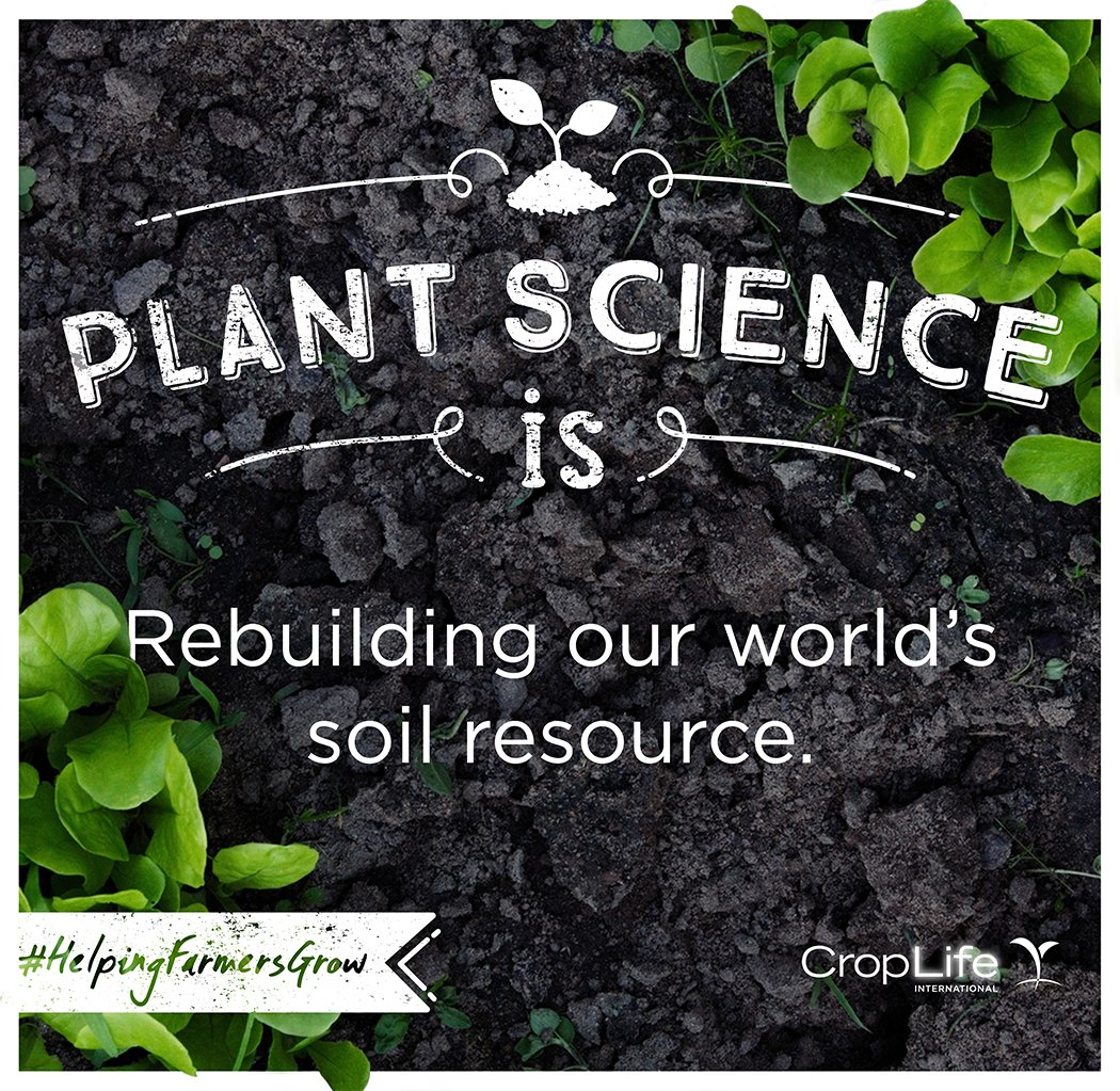 Soil stores 10% of the world's carbon dioxide, more than the atmosphere and vegetation combined #helpingfarmersgrow https://t.co/Aw0279kEJo