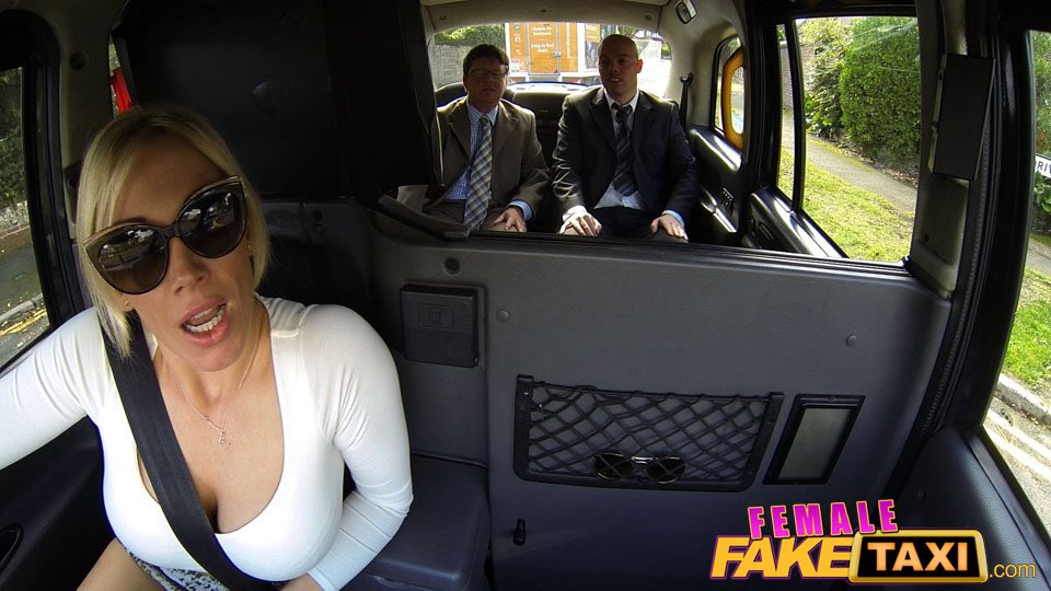 female faketaxi