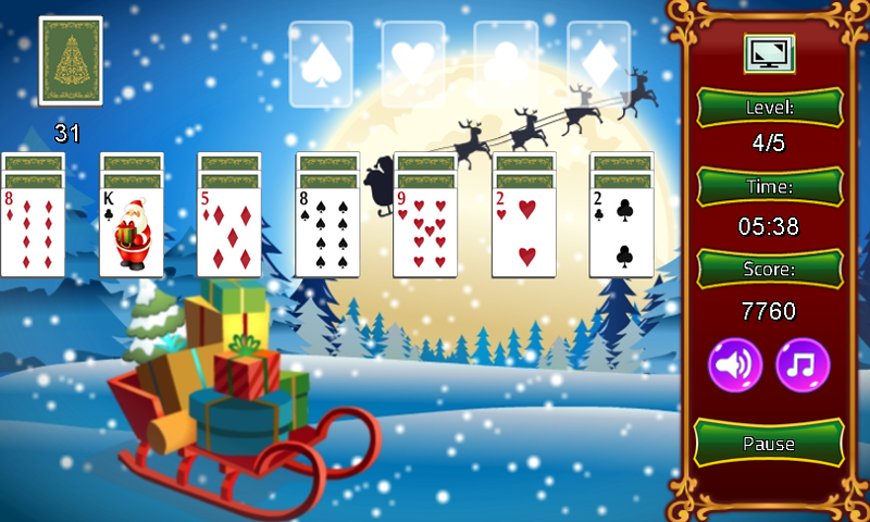 Christmas Solitaire.Solitaireonline On Twitter Our New Solitaire Klondike