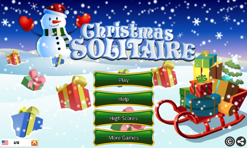 solitaireonline on twitter our new solitaire klondike game for christmas christmas solitaire httpstcoffxcha9kc1 httpstcofmssebg9i5 - Solitaire Christmas