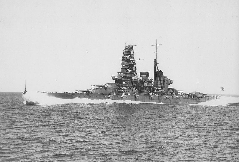 1913 - Haruna, a warship of the Imperial Japanese Navy, is launched. It would serve in #WWI & #WWII #OnThisDay https://t.co/CQFujmtNHY