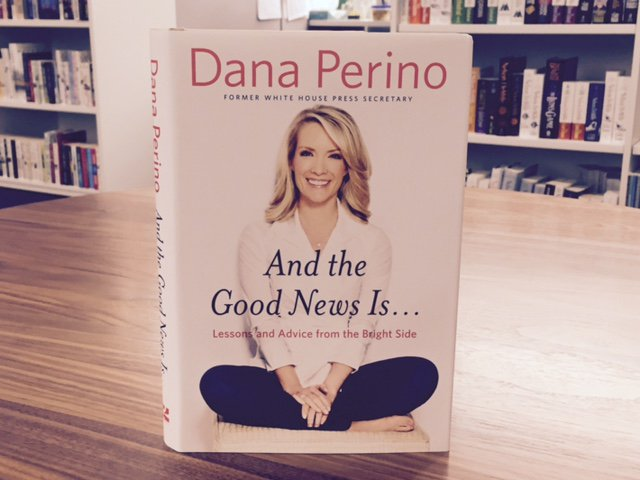 #12DaysOfGiveaways Day 10: RT to win a SIGNED copy of  #1 NYTimes bestseller AND THE GOOD NEWS IS... by @DanaPerino! https://t.co/pBFfyEFFdO