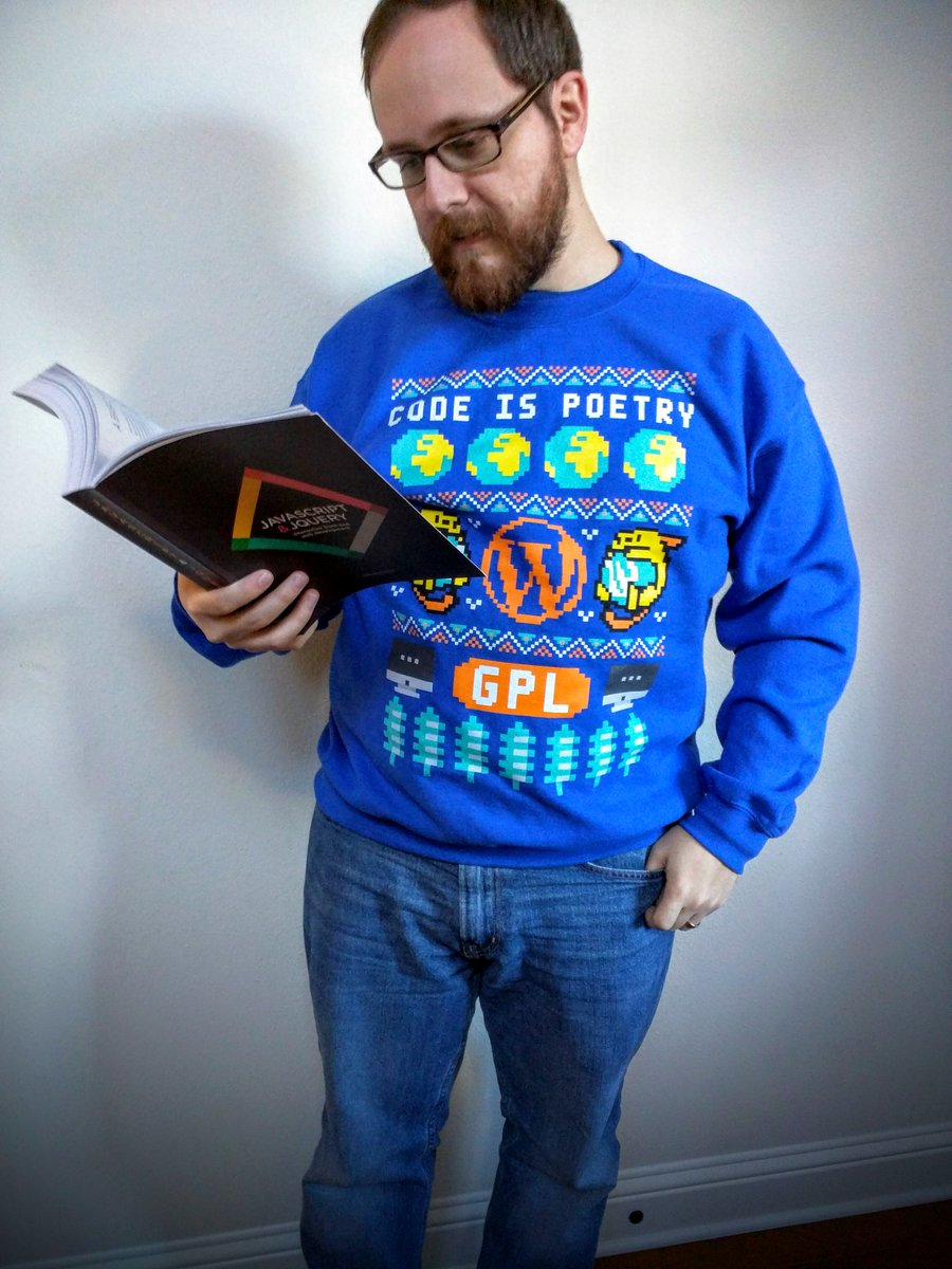 Looking for a nice sweatshirt for when you're curled up reading about JS? Get it now: https://t.co/ZmMpZeihY9 https://t.co/nMnrg6mMWg