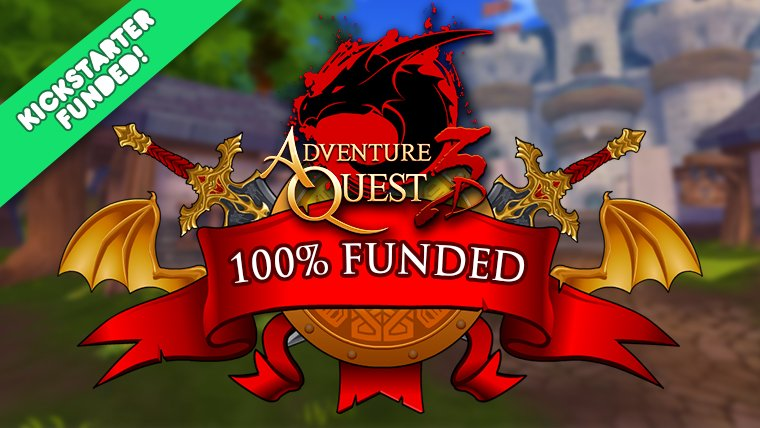 WE DID IT! $200,000 for AQ3D!  https://t.co/yyH0kA8vRe https://t.co/MgYHrIQ8c5