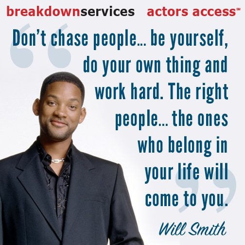 """""""Don't chase people. Be yourself, do your own thing and work hard. The right people..."""" #MondayMotivation https://t.co/CTKVYFu1oZ"""