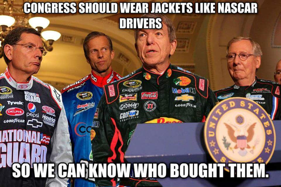 Congressional uniforms. https://t.co/flogsUrzkp