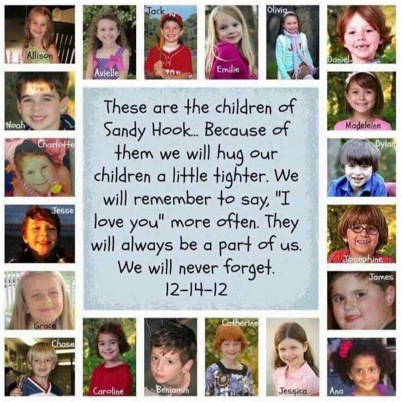 Never forget those lost 3 years ago today at #SandyHook. https://t.co/Rd8z2pj7A6