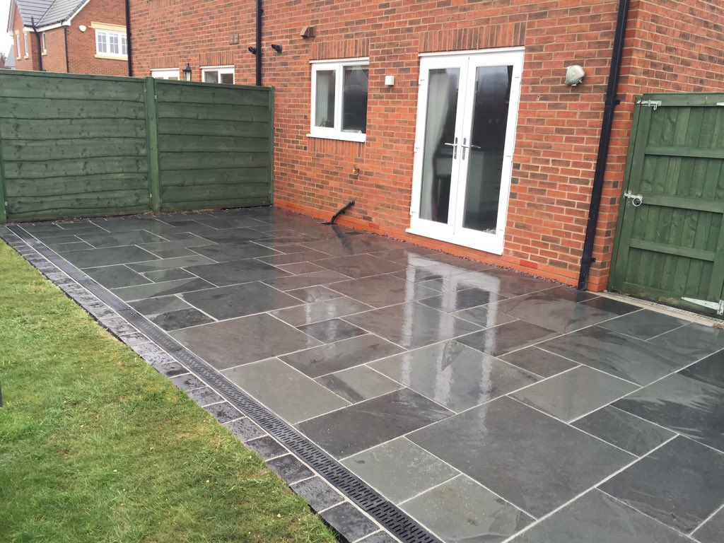 moss landscaping on twitter casarta brazilian slate patio