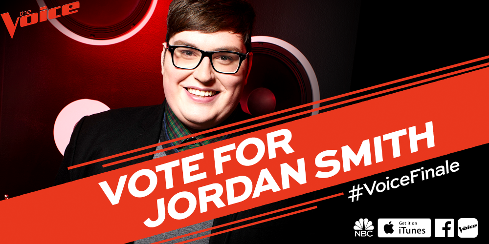 RT if you want @jordansmithlive to be #TheVoice of Season 9. #VoiceFinale