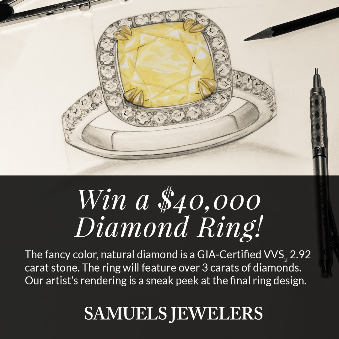 If you don't enter, you can't win! Our biggest giveaway yet! Enter to win a $40K ring now https://t.co/ZMu6n6nyDn https://t.co/GgtramLl4b