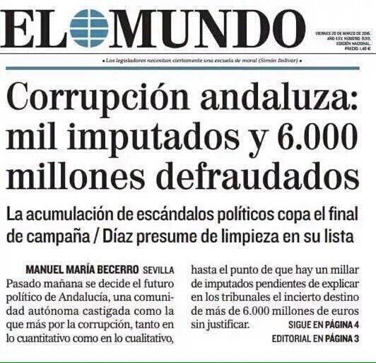 #CaraACaraL6 Sánchez a la desesperada solo habla la corrupción parece que no sabe lo que son 6000 millones de € https://t.co/jJv6wDOjT5
