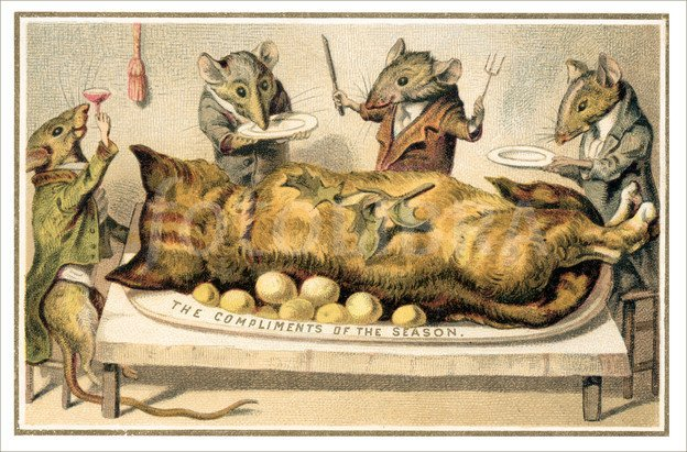 undine on twitter so you think victorian christmas cards cant get any worse than dead birds and leering pigs think again pal httpstcony3tczey4d