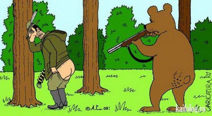 картинки прикол медведь и заяц так как новый