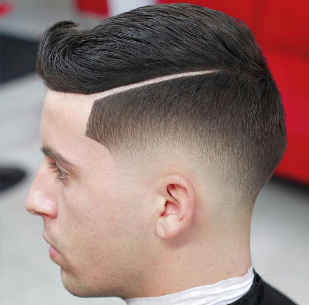 how to cut a fade on a white person
