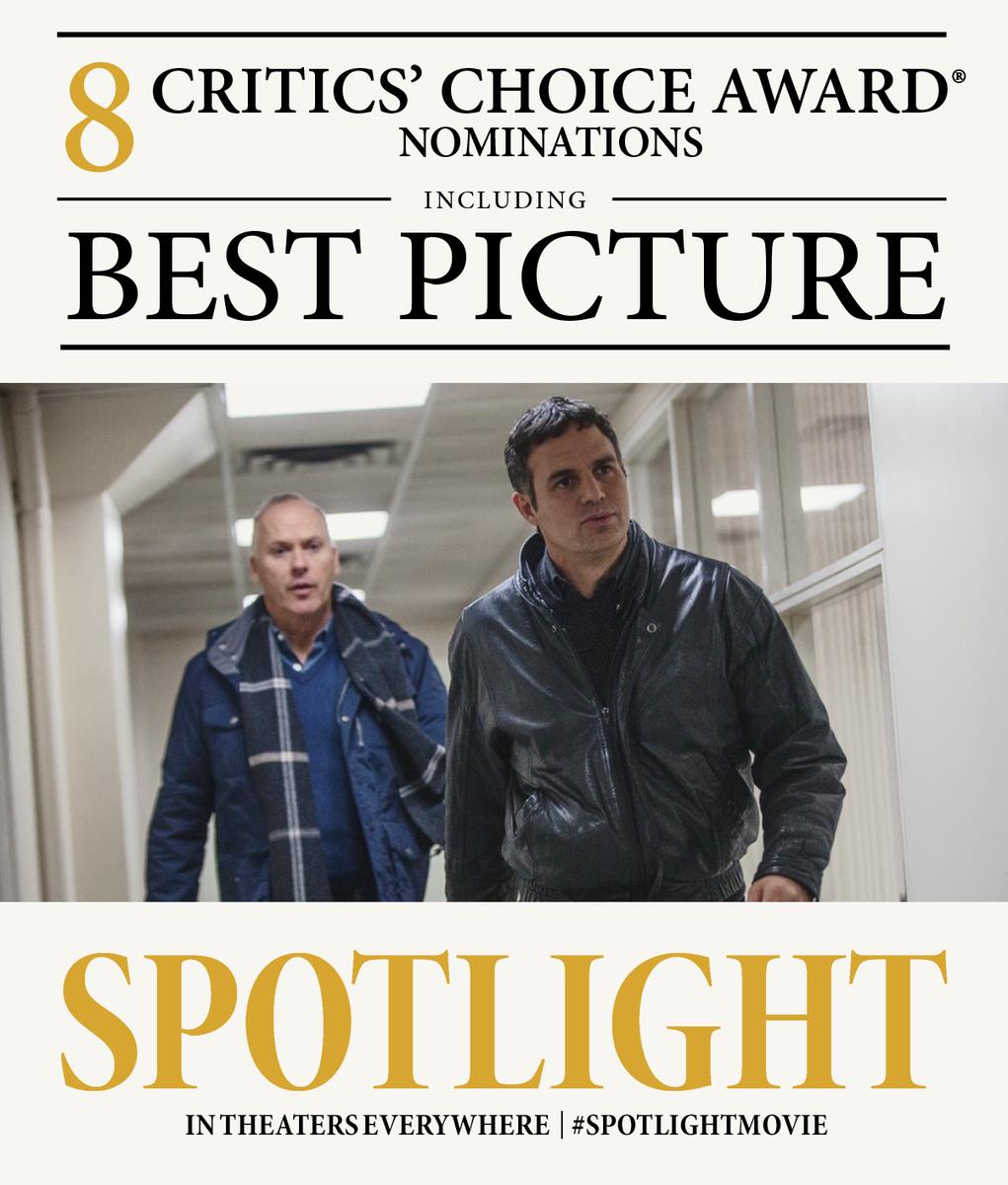 Crazy Eddie's Motie News: 'Spotlight' gets the recognition ...