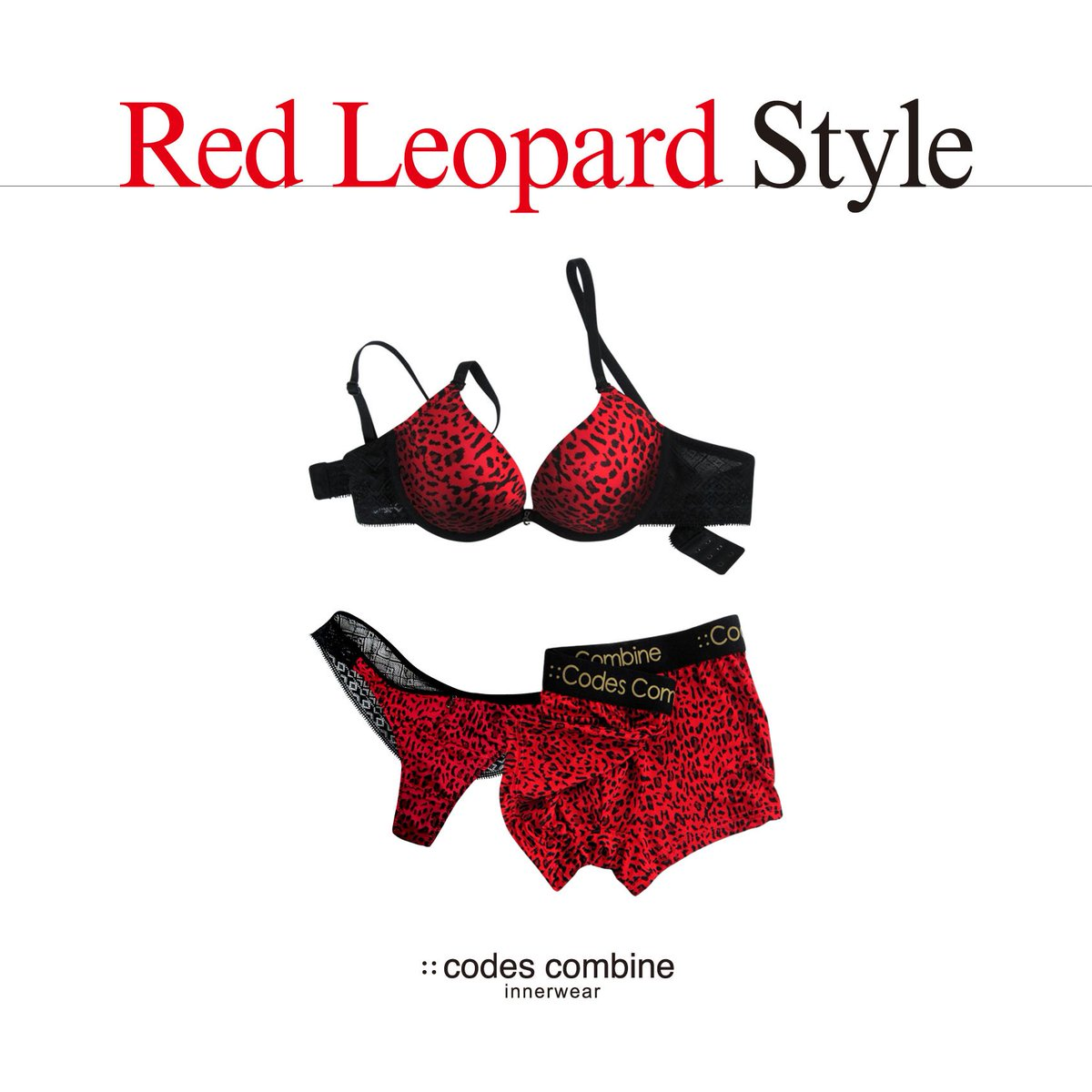 "[::codescombine innerwear] 코데즈컴바인 이너웨어의 Christmas와 특히 어울리는   ""Red Leopard Style Set""~!! 매혹적인 레드 호피 프린트와 레이스 매칭의 섹시함! https://t.co/ameLOBMIGC"