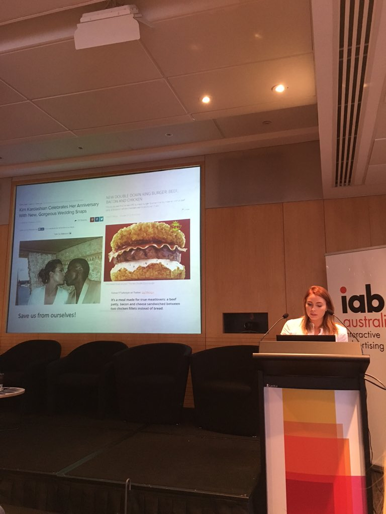 Jess White from Cadreon is talking a lot of sense but all I can think about is the burger  #iabcrystalball https://t.co/VtZ2ZcEhLS