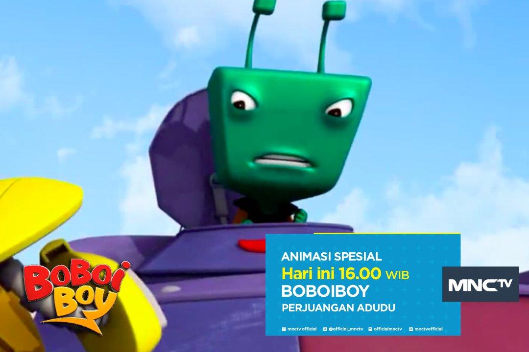 """Mau tau seberapa besar """"perjuangan adudu""""? saksikan ceritanya dalam # boboiboy pkl 16:00 wib. #animasispesial - scoopnest.com"""