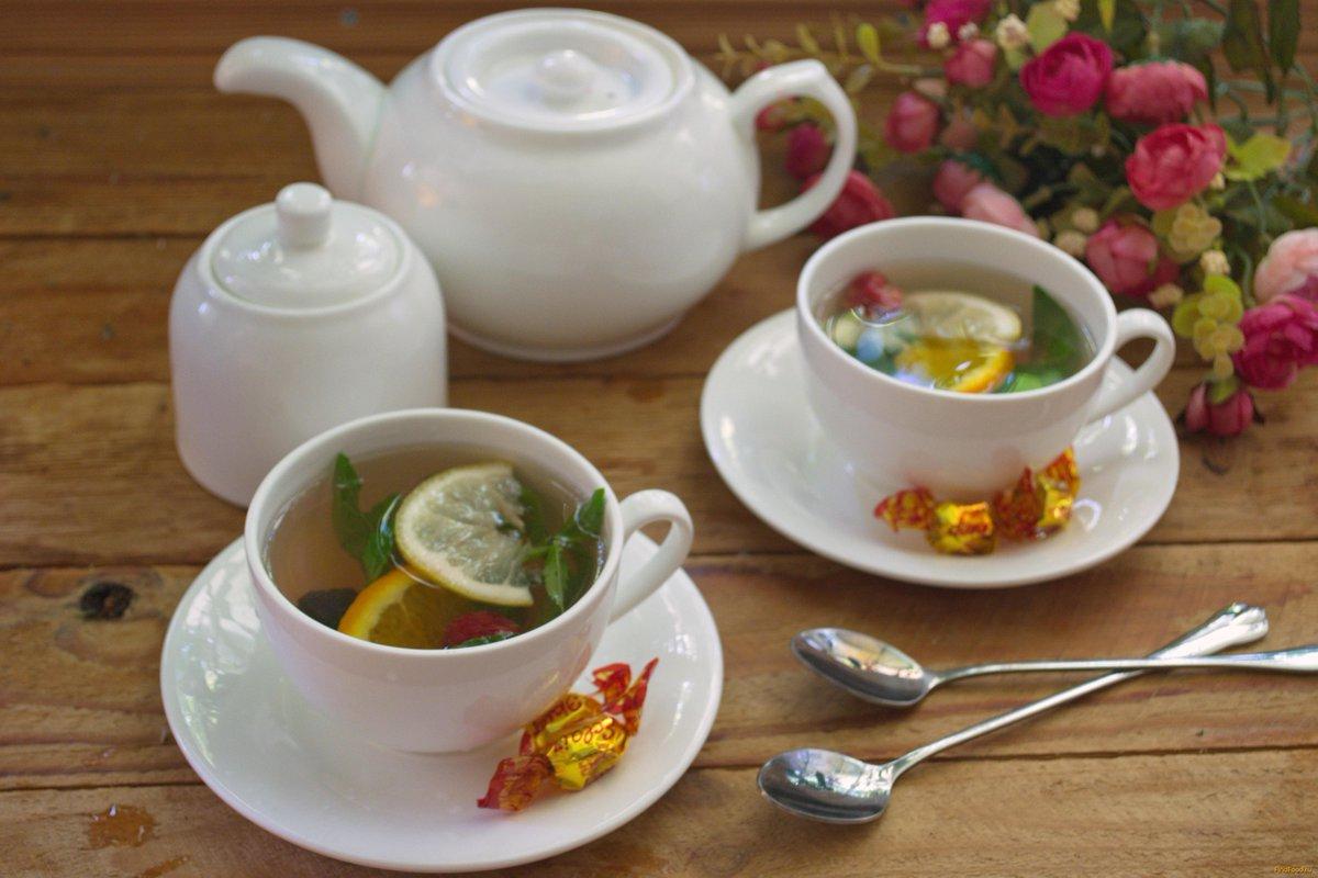 Картинка чая для двоих