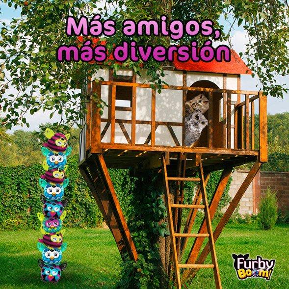 Para #Furby Boom, lo mejor de la vida, es estar junto a sus amigos queridos! ¡Feliz día! https://t.co/LeCLzLIQR6