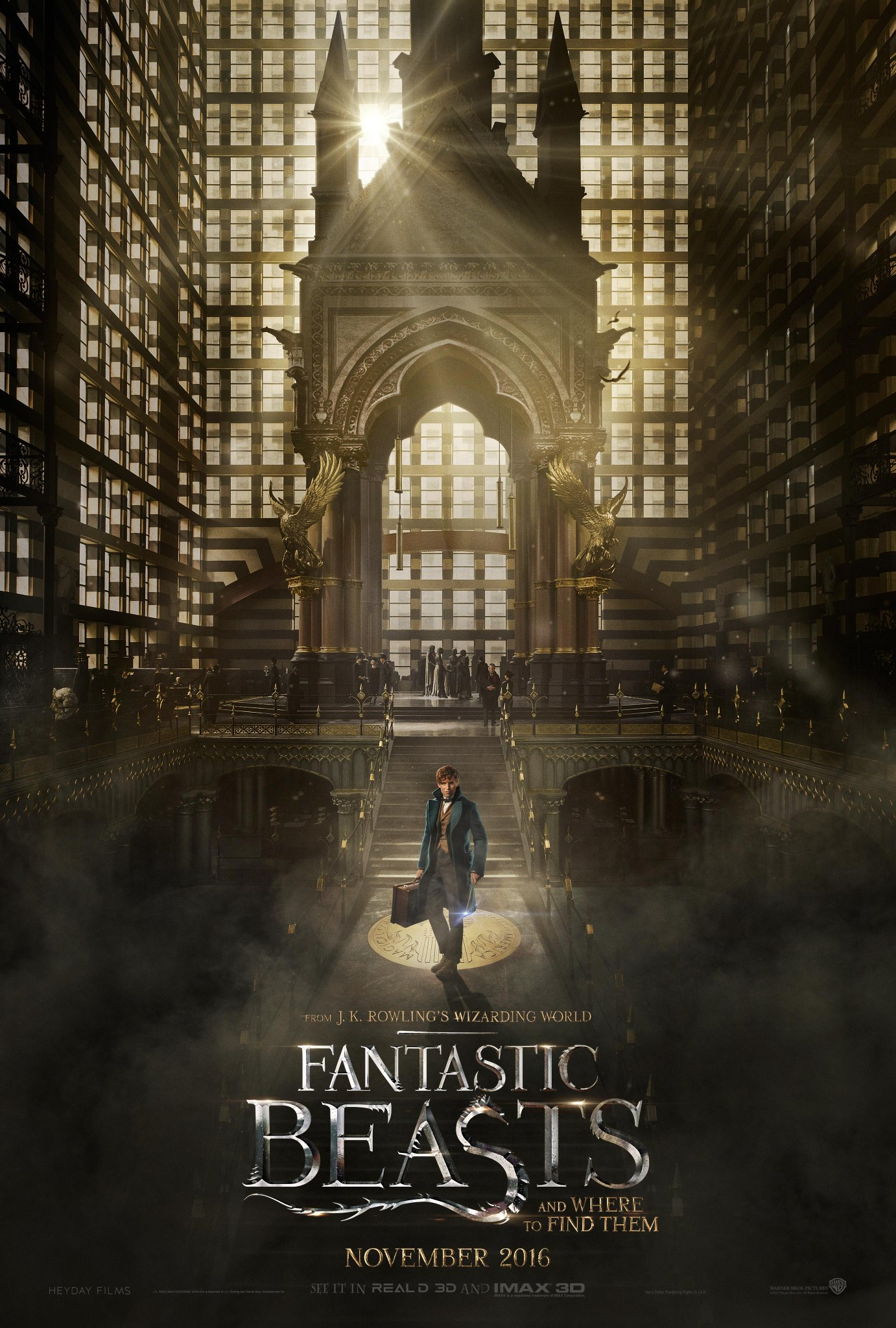 Fantastic Beasts and Where to Find Them Trailer Featuring Eddie Redmayne 1