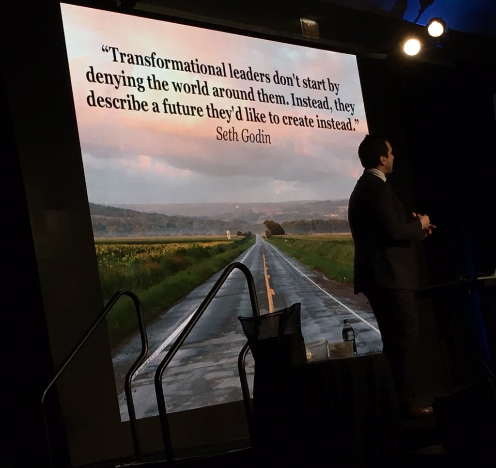 Best keynote ever. George Couros at Ties 2015 conference. #ties15 @gcouros https://t.co/XmMadOW4PA