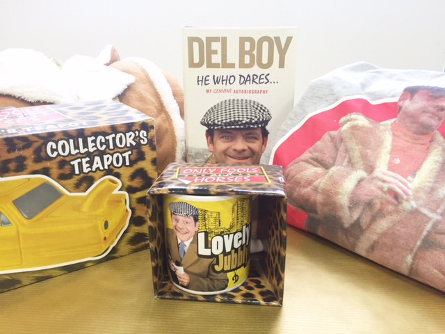 To win this Del Boy mega pack- including a copy of 'He Who dares' Just RT this image + follow us by 5pm today! https://t.co/HvsYI3nDEO