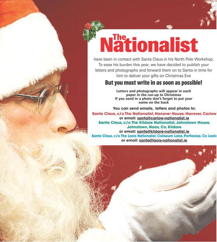 kildare nationalist on twitter santa letters httpstcoskddysepcb httpstco8liebrzw7u