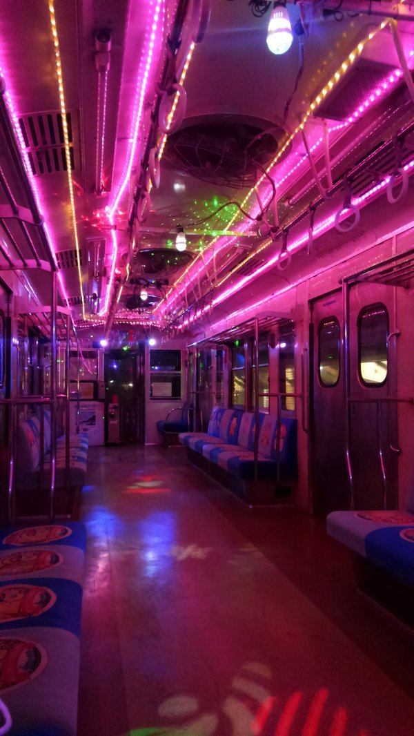 地元の銚子電鉄のイルミネーション、えらいことになってるな… https://t.co/z6HyhpknZe