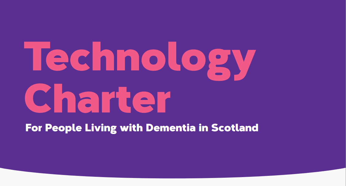 Q: How can technology help people with dementia?  A: Check out the new Technology Charter https://t.co/5PKVXBEJRu https://t.co/9o3mXdyKSk